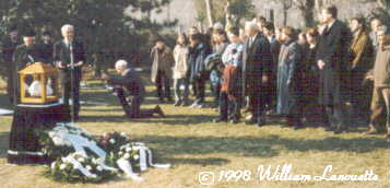 Burial ceremony